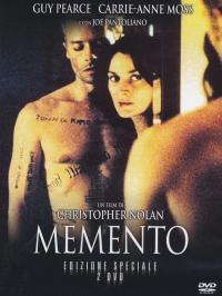 Memento [DVD] / un film di Christopher Nolan ; sceneggiatura di Christopher Nolan ; basato su un racconto di Jonathan Nolan
