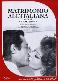 Matrimonio all'italiana [DVD] / un film di Vittorio De Sica ; tratto dalla commedia di Eduardo De Filippo Filumena Marturano
