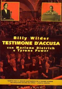 Testimone d'accusa [DVD] / regia Billy Wilder ; sceneggiatura Billy Wilder, Harry Kurnitz ; dal romanzo di Agatha Christie ; musiche Matty Malneck