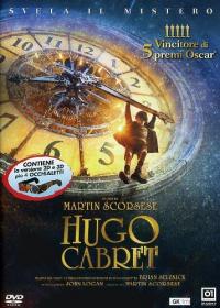 """Hugo Cabret [DVD] / un film di Martin Scorsese ; tratto dal libro """"La straordinaria invenzione di Hugo Cabret"""" di Brian Selznick ; sceneggiatura di John Logan. Disco 1"""