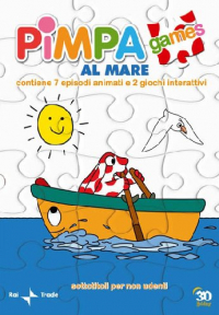 Pimpa al mare [DVD] / soggetto, sceneggiatura e disegno Altan ; regia Osvaldo Cavandoli ; animazione Studio G.L.M. ; musica Corrado Tringali ; voce di Pimpa Roberta Paladini ; voce di Armando Vitttorio Di Prima