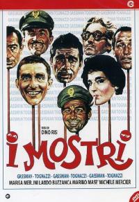 I mostri [DVD] / regia di Dino Risi ; soggetto, Age ... [et al.] ; sceneggiatura Dino Risi, Ettore Scola, Ruggero Maccari ; musiche Armando Trovajoli
