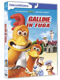 Galline in fuga [DVD] = Chicken run / story by Peter Lord e Nick Park ; screenplay by Karey Kirkpatrick ; directed by Peter Lord and Nick Park