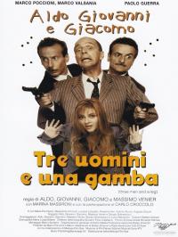 Tre uomini e una gamba [DVD]