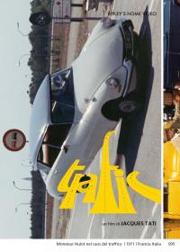 Monsieur Hulot nel caos del traffico [VIDEOREGISTRAZIONE]