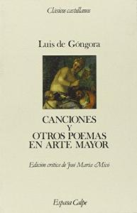 Canciones y otros poemas en arte mayor