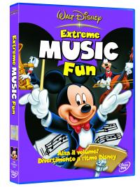 Extreme Music Fun [DVD]: alza il volume! Divertimento a ritmo Disney