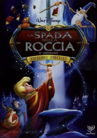 La spada nella roccia [DVD]
