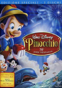 Pinocchio [DVD] / [Walt Disney ; from the story by Collodi ; supervising directors Ben Sharpesteen, Hamilton Luske]