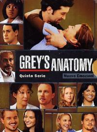 Grey's anatomy. Quinta serie