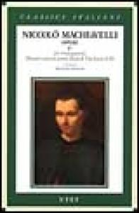 Vol. 1.2: Discorsi sopra la prima Deca di Tito Livio (libro 3.)