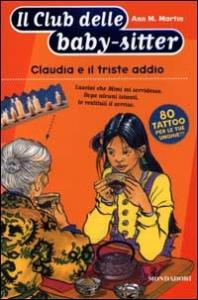 Claudia e il triste addio