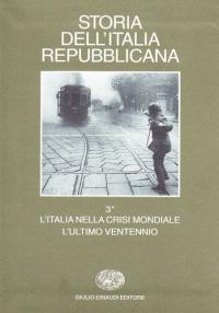Vol. 3.1: L'Italia nella crisi mondiale