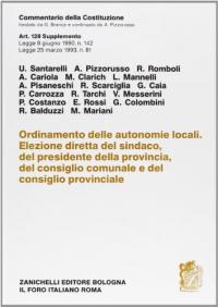 Ordinamento delle autonomie locali