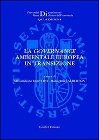 ˆLa ‰governance ambientale europea in transizione
