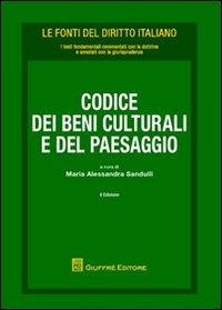 Codice dei beni culturali e del paesaggio