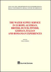 The water supply service in Europe