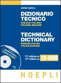 Dizionario tecnico inglese-italiano, italiano-inglese