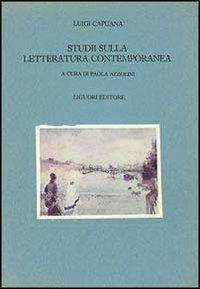 Studii sulla letteratura contemporanea