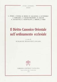 Il diritto   canonico   orientale  nell' ordinamento   ecclesiale