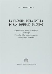 La filosofia della natura di san Tommaso d'Aquino