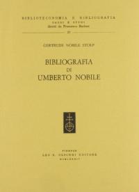 Bibliografia di Umberto Nobile