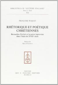 Rhétorique et poétique chrétiennes