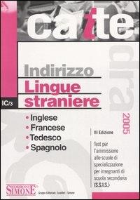 Indirizzo lingue straniere
