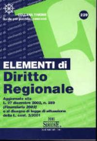 Elementi di diritto regionale