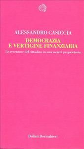 Democrazia e vertigine finanziaria