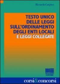 Testo unico delle leggi sull'ordinamento degli enti locali e leggi collegate