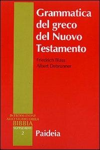 2: Grammatica del greco del Nuovo Testamento