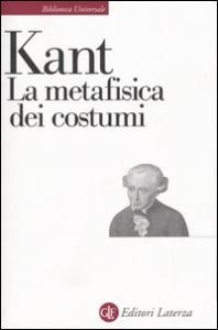 La metafisica dei costumi
