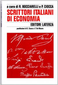 Scrittori italiani di economia