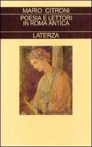 Poesia e lettori in Roma antica