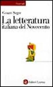 La letteratura italiana del Novecento