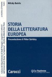Storia della letteratura europea