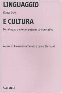 Linguaggio e cultura