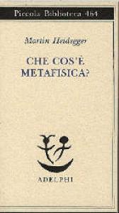 Che cos'e metafisica?