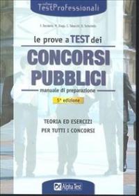Le prove a test dei concorsi pubblici