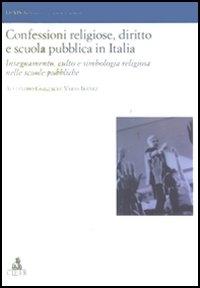 Confessioni religiose, diritto e scuola pubblica in Italia