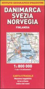 Danimarca. Svezia. Norvegia [Materiale cartografico] : carta stradale