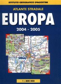 Atlante stradale. Europa 2004-2005