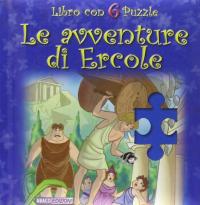 Le avventure di Ercole: libro con 6 puzzle