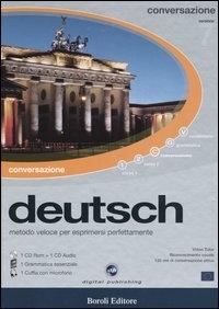 Deutsch  [corso multimediale] : conversazione : metodo veloce per esprimersi perfettamente