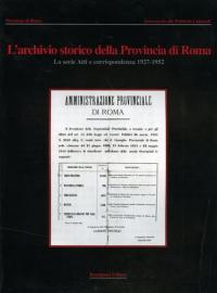 L' archivio storico della Provincia di Roma