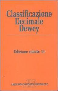 Classificazione decimale Dewey ridotta e indice relativo