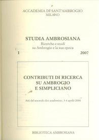 Studia Ambrosiana 1 (2007)