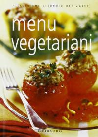 Menu vegetariani