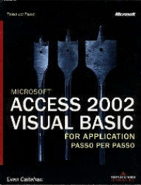 Microsoft Access 2002 Visual Basic, for application, passo per passo
